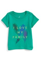 Infant Girl's Peek Family Graphic Tee