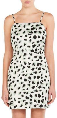 Glamorous White Coral Leopard Dress