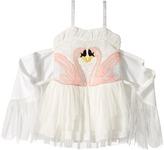 Stella McCartney Bonny Winged Swan Tulle Dress Girl's Dress