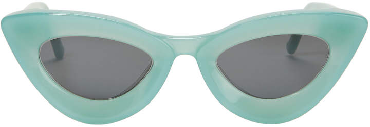 Grey Ant Iemall Green Cat Eye Sunglasses