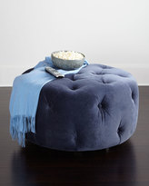 Horchow Betts Tufted Ottoman