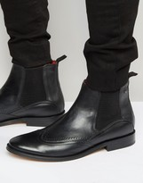 Base London Xxi Leather Chelsea Boots