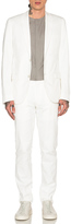 Calvin Klein Collection Crosby Soft Suit