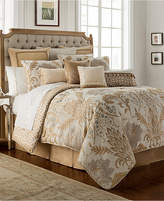 Waterford Ansonia Ivory 4-Pc. Queen Comforter Set