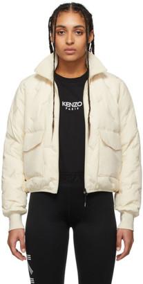 Kenzo Off-White Down Paris Jacket