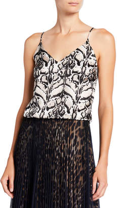 Loyd/Ford Printed Silk Tiger Cami