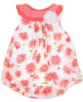 Baby Essentials Floral-Print Bubble Romper, Baby Girls (0-24 months)