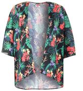 Lee Cooper Womens Print Kimono Ladies Batwing Sleeve Lightweight Clothing