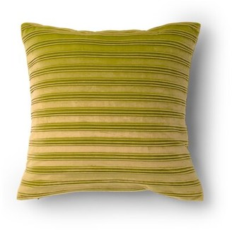 Protect A Bed Protect-A-Bed Striped Throw Pillow Protect-A-Bed Color: GOld