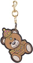 Moschino Teddy Bear Leather Key Holder