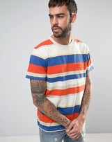 Levis Orange Tab Striped Pocket T-shirt