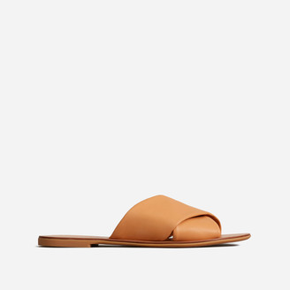 Everlane The Leather Crossover Sandal