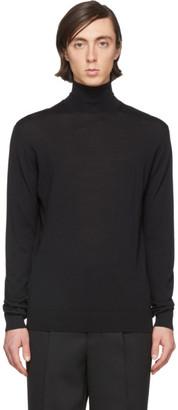 Lanvin Black Wool Turtleneck