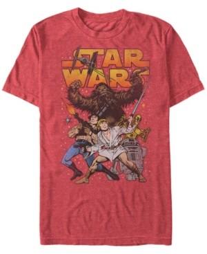 Thumbnail for your product : Star Wars Men's Classic Cartoon Good Guys Short Sleeve T-Shirt