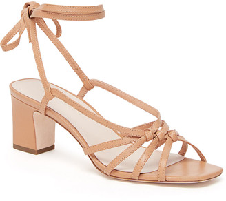 Rebecca Taylor Loeffler Randall Libby Knotted Wrap Heel Sandal