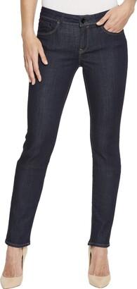 Mavi Jeans Women's Kerry Mid Rise Straight Leg RINSE INDIGO GOLD 24/32