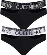 Queenie Ke Women's Comfort Modern Cotton High Elastic Band Active Brief Panty Size Color