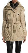 Burberry Chevrington 3-in-1 Trenchcoat/Puffer Coat, Sisal/Black