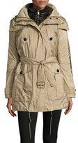 Burberry Chevrington 3-in-1 Trenchcoat/Puffer Coat, Sisal/Black