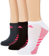 adidas 3-pk. Superlite No-Show Socks