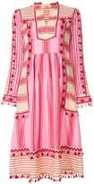 Dodo Bar Or striped tassel dress