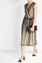 Diane von Furstenberg Wrap Dress with Cotton and Silk