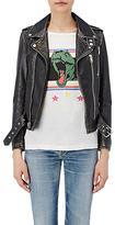 Saint Laurent Women's Distressed Moto Jacket