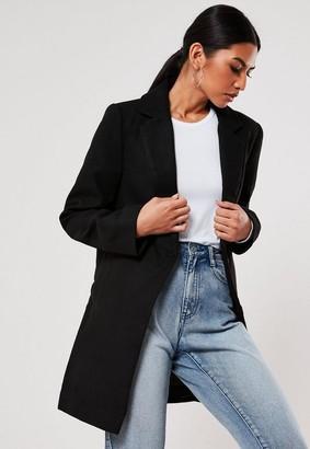Missguided Black Formal Coat