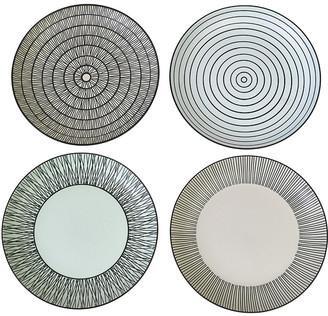 Pols Potten Afresh Pastel Plates - Set of 4 - Small