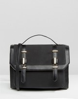 Asos Metal Trim Satchel Bag