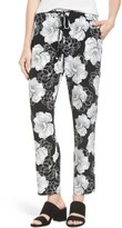 Chaus Women's Peony Sketch Drawstring Pants