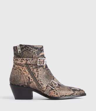 AllSaints Lior Leather Boots