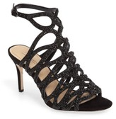 Imagine by Vince Camuto Women's Plash Glitter Cage Sandal