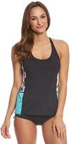 Beach House Sport Women's Standout Tropical Neti Tankini Top 8153151