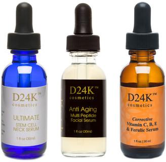 D24K by D'OR D'or By D24k 3Pc Complete D24k Serum Collection