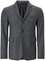 Jigsaw Washed Wool Notch Jacket