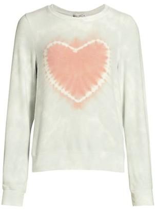 Wildfox Couture Solid Heart Crewneck Sweatshirt