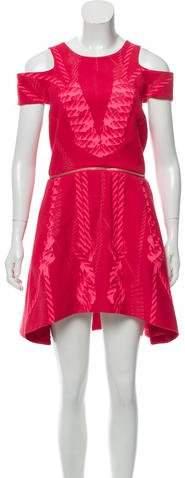 Dion Lee Wool Cutout Dress