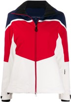 Perfect Moment Mountain Mission III J colour-block jacket