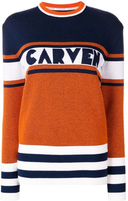 Carven Panelled Jumper