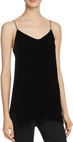 Theory Odete B Fixture Velvet Camisole Top