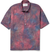 Our Legacy Tie-Dyed Stretch-Cotton Shirt