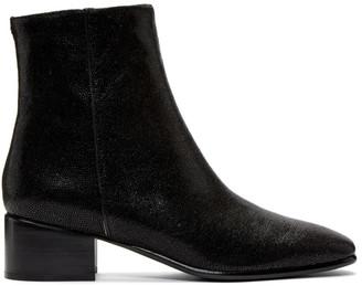 Rag & Bone Black Aslen Mid Boots