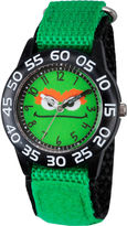 Sesame Street Boys Green Oscar The Grouch Time Teacher Strap Watch W003151