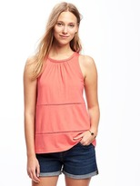 Old Navy Eyelet-Trim Tank for Women
