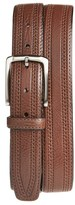 Trafalgar Men's 'Hatcher' Leather Belt