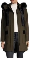 Zac Posen Aster Wool Coat