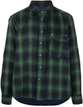 Ader Error Regular-Fit Check Shirt