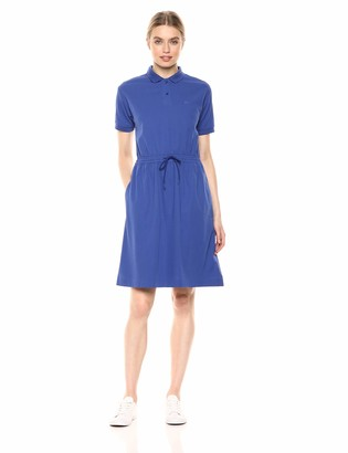 Lacoste Women's S/S Polo Dress W/Cinched Waist