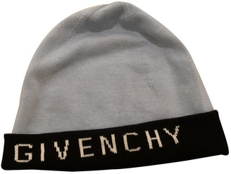 Givenchy Blue Cashmere Hats & pull on hats